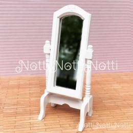 Зеркало для кукольного домика Кармен белое
