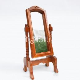 Зеркало для кукольного домика Кармен орех