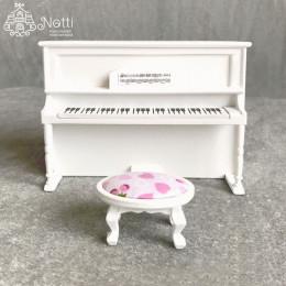 Пианино для кукольного домика Колломия белое