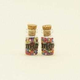 Набор баночек с конфетами для кукол