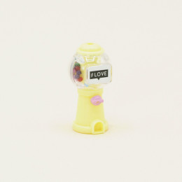 Автомат с конфетами для кукол желтый