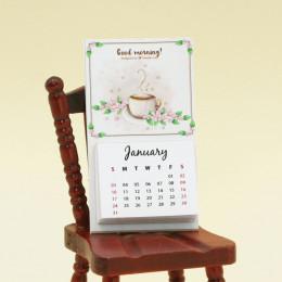Календарь на 2021 год для кукол Good morning