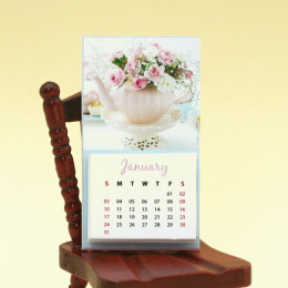 Календарь на 2021 год для кукол Rose