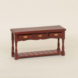 Столик для кукольного домика Твист амарант