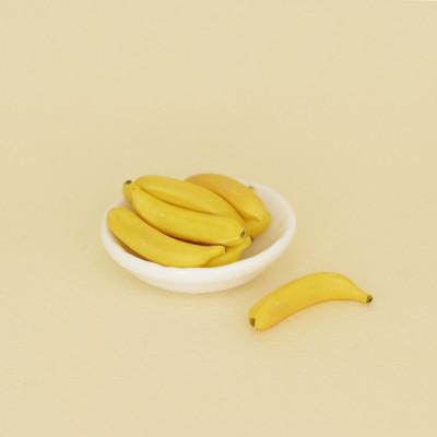 Бананы для кукол 1 шт.