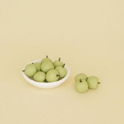 Яблоки Гренни для кукол 10 шт.