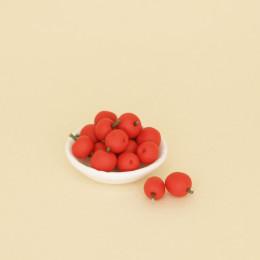 Яблоки красные для кукол 10 шт.