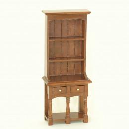 Шкаф для кукольного домика Дели орех