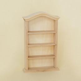 Книжный шкаф для кукольного домика Бикса липа