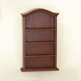 Книжный шкаф для кукольного домика Бикса орех