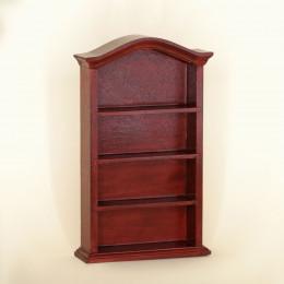 Книжный шкаф для кукольного домика Бикса амарант