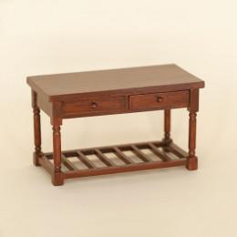 Столик для кукольного домика Треви орех