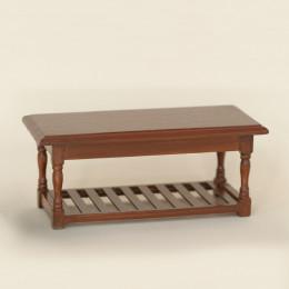 Столик для кукольного домика Сайна орех