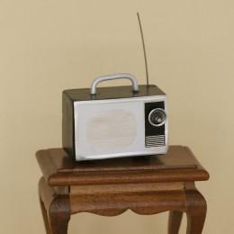 Радио для кукольного домика с антеной