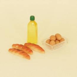 Набор для кукол масло хлеб яйца