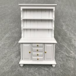 Шкаф для кукольного домика Лавр белый