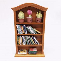 Книжный шкаф для кукольного домика Бикса