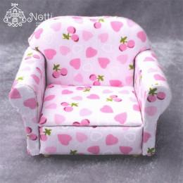 Кресло для кукольного домика Клубника