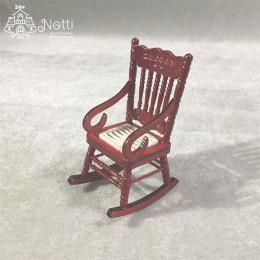 Кресло-качалка для кукол Бегония амарант