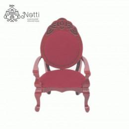 Кресло для кукол Дремлик амарант