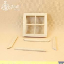 Окно для кукольного домика Хадар