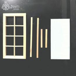 Окно для кукольного домика Кит