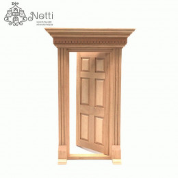 Дверь для кукольного домика Форнацис