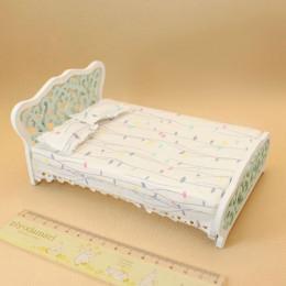Кровать для кукольного домика «Орхидея»
