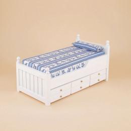 Двухъярусная кровать для кукольного домика «Драцена»