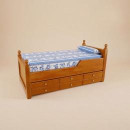 Двухъярусная кровать для кукольного домика «Камелия»