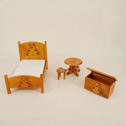 Спальный гарнитур для кукольного домика «Кохия»