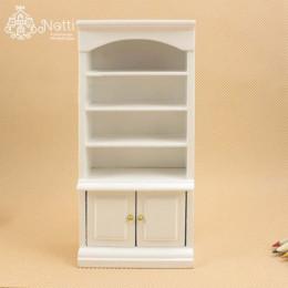 Книжный шкаф для кукольного домика Роза