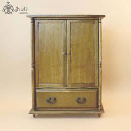 Шкаф для кукольного домика Бальса