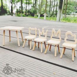 Стол и стулья для кукол Моринга
