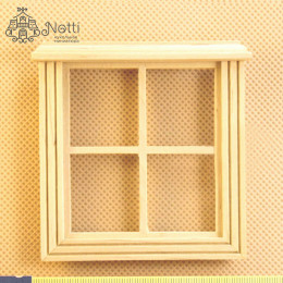 Окно для кукольного домика Марино