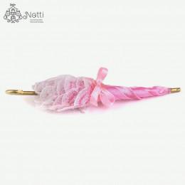 Зонтик для кукол Ида розовый