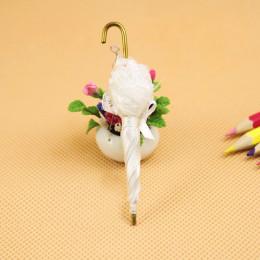 Зонтик для кукол Ида белый