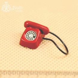 Телефон для кукол Дракула красный