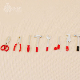 Набор инструментов для кукол Поларис красный