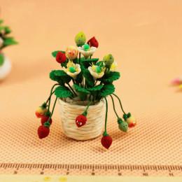 Цветы в горшке для кукольного домика Санберри