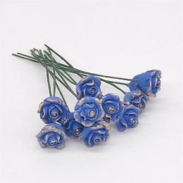 Цветы для кукольного домика Розы Шедир ультрамарин