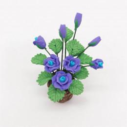 Цветы в горшке для кукольного домика Тегмен