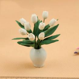 Цветы в вазе для кукольного домика Асцелла