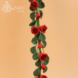 Цветы для кукольного домика Меза красная