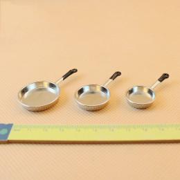Комплект сковородок для кукол Добрыня серебро