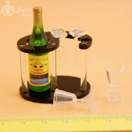 Шампанское с подставкой для кукол Габриэль
