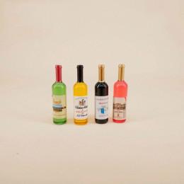 Набор бутылок с вином для кукол Айраска