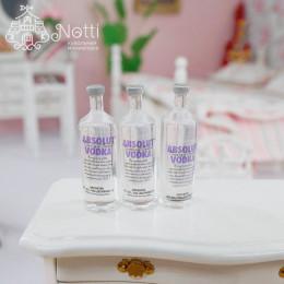 Набор бутылок водки для кукол Абсолют