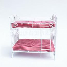 Двухъярусная кровать для кукольного домика «Адонис»