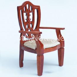 Кресло для  кукольного домика Кмин орех
